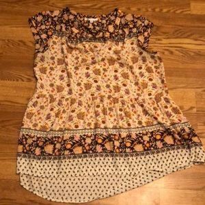 Gathered waist tunic blouse Nordstrom